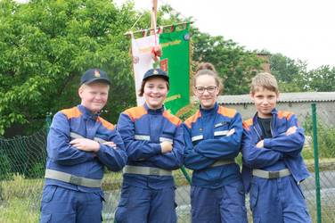 Wettkampfteam Kreisjugendfeuerwehr