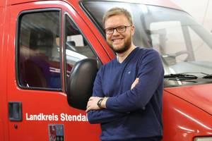 Christoph Preuß ist Ansprechpartner für Kinder-und Jugendfeuerwehren ©sabrina lamcha